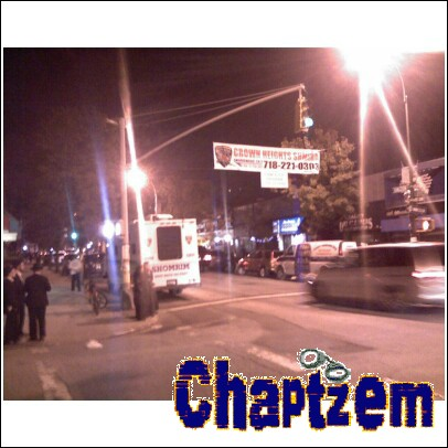 Coincidence? I THINK NOT! The Shmira banner atop the Shomrim Command Post.