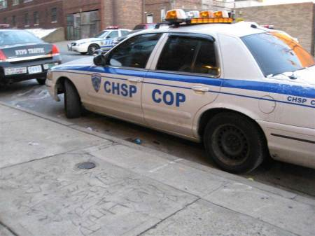 they even put the COP logo on their car, CAPPOS.