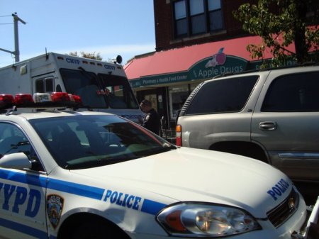 10-6-09 Shomrim Command post being ticked by 71st pct. nypd-shmira-