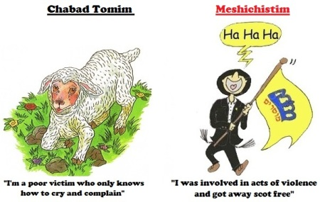 Chabad vs Meshichist-crown heights-