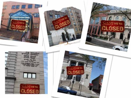 Sorry we're closed- Crown heights yeshivas closed for summer