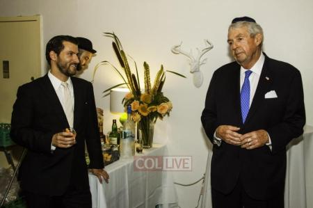 July 13, 2013. Brooklyn Prosecutor Charles J. Hynes attended an election fundraiser in his honor at the home of Zaki Tamir, Chairman of the Crown Heights Jewish Community Council.